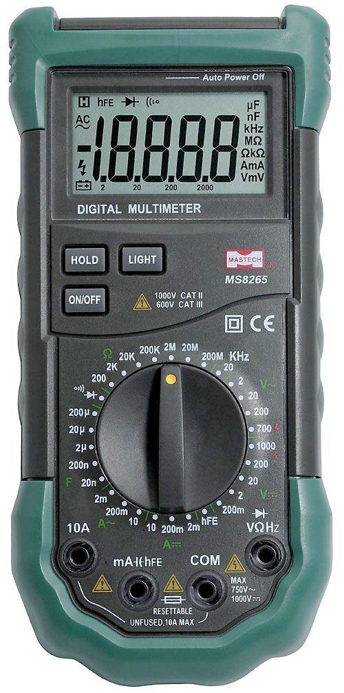 Multimetr MASTECH MS8265, 4 1/2 místný