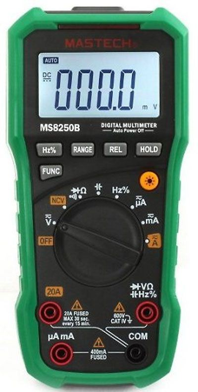 Multimetr MS8250B MASTECH, automat, USB