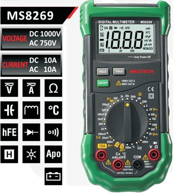 Multimetr MS8269 MASTECH