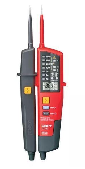 Zkoušečky UT18C s LCD displejem UNI-T