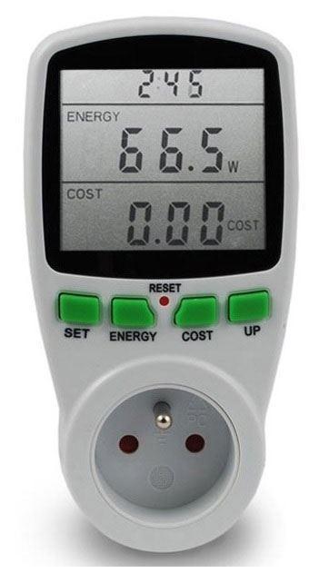 Wattmetr a měřič spotřeby  ORNO WAT-408 do 3650W