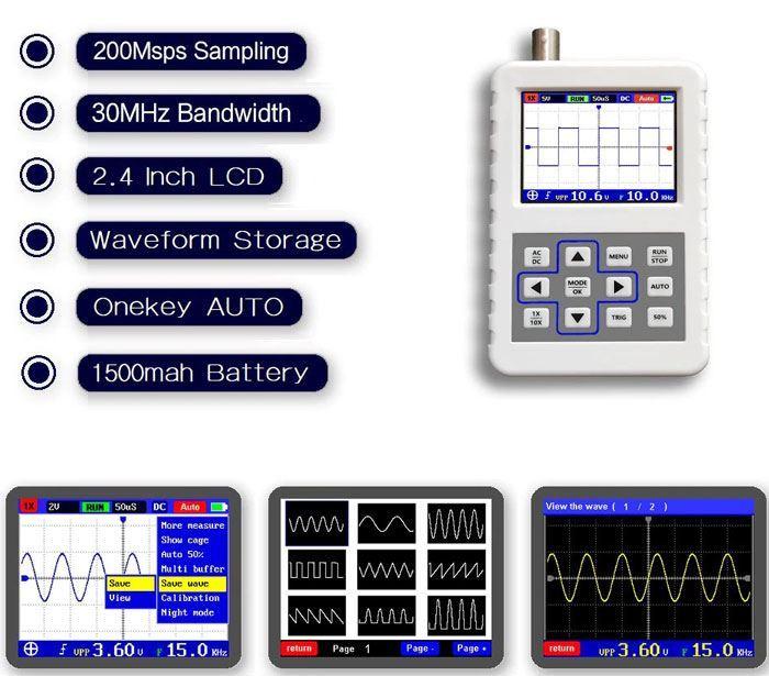 Osciloskop 30MHz FNIRSI-2031H /ADS2031H/