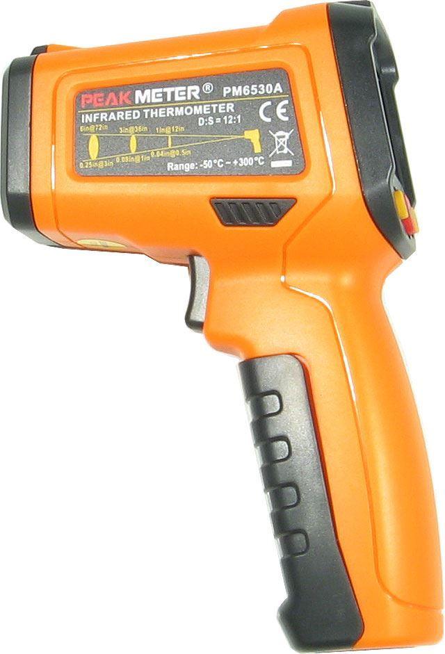 Teploměr infračervený PEAKMETER PM6530A -20~450°C