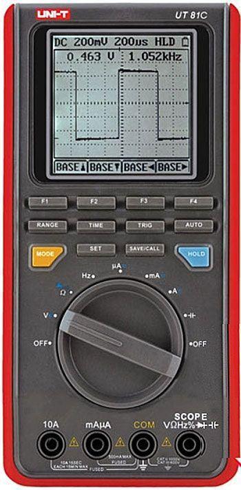 Osciloskop 16MHz s multimetrem UT-81C UNI-T