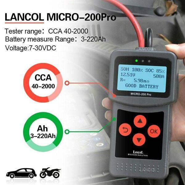 Tester akumulátorů Lancol Micro-200 Pro