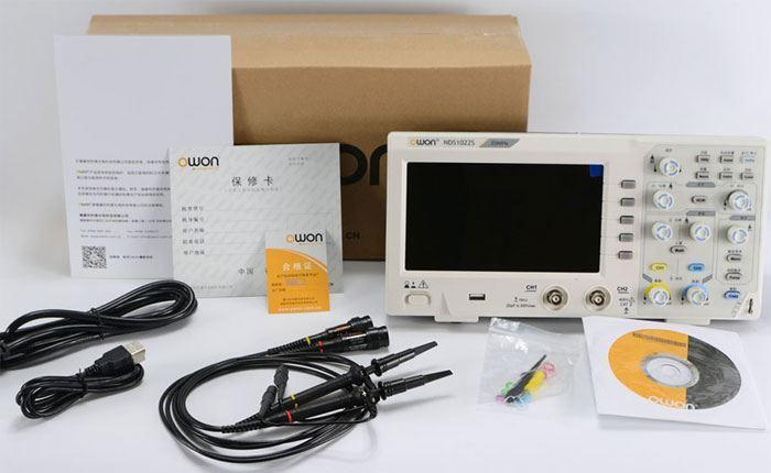 Osciloskop 2x100MHz 1GSa/s RuoShui 1100s
