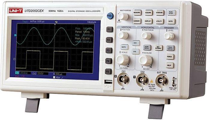 Osciloskop 2x50MHz UTD2052CEX UNI-T