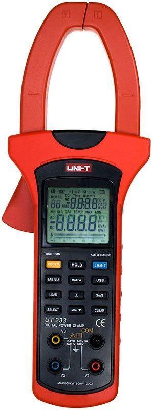 Multimetr UT233 klešťový wattmetr, 3 fázový, UNI-T