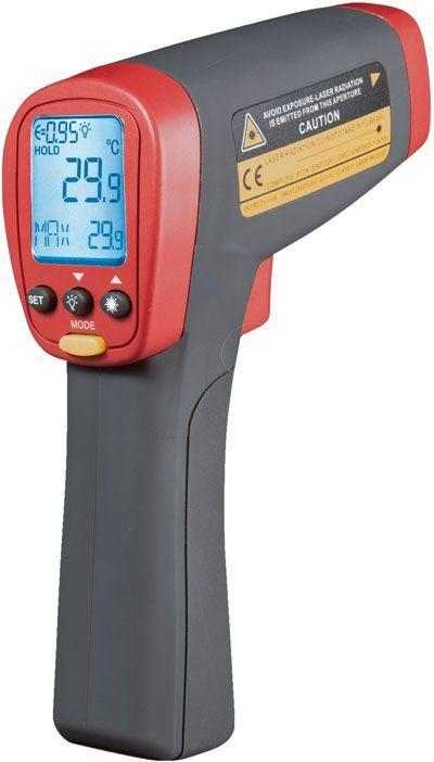 Teploměr bezdotykový UT301C UNI-T -18~550°C, USB