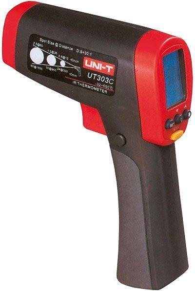 Teploměr bezdotykový UT303C UNI-T -32~1050°C, USB