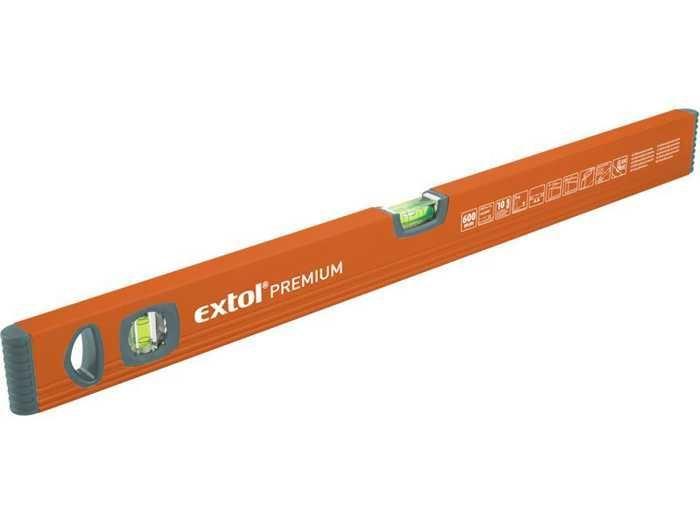 Vodováha profesionální 600mm, EXTOL, 3556