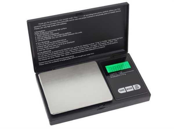 Kapesní váha 100x0,01g