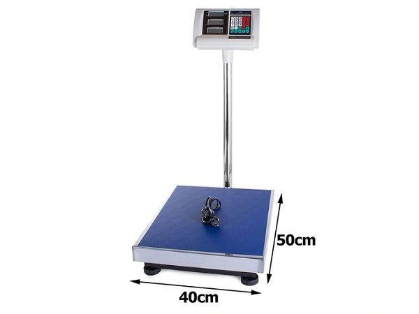 Digitalní váha do 300kg 50x40cm