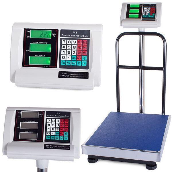 Digitalní váha od 2kg do 300kg 50x40cm