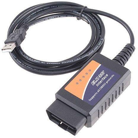 Autodiagnostika ELM327, OBD II, USB