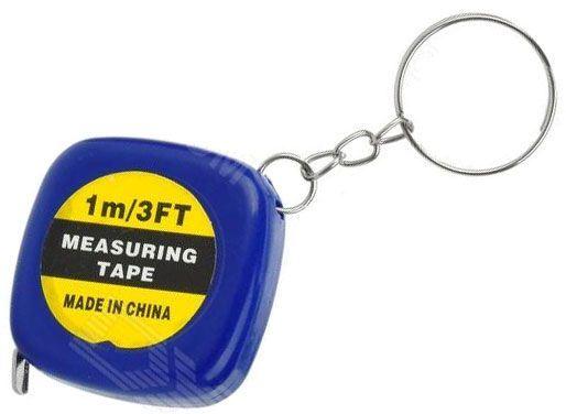 Metr svinovací 1m-přívěšek na klíče