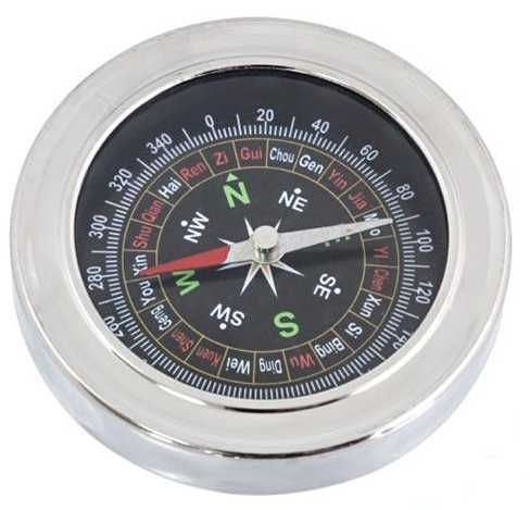 Nerezový kompas, průměr 75mm