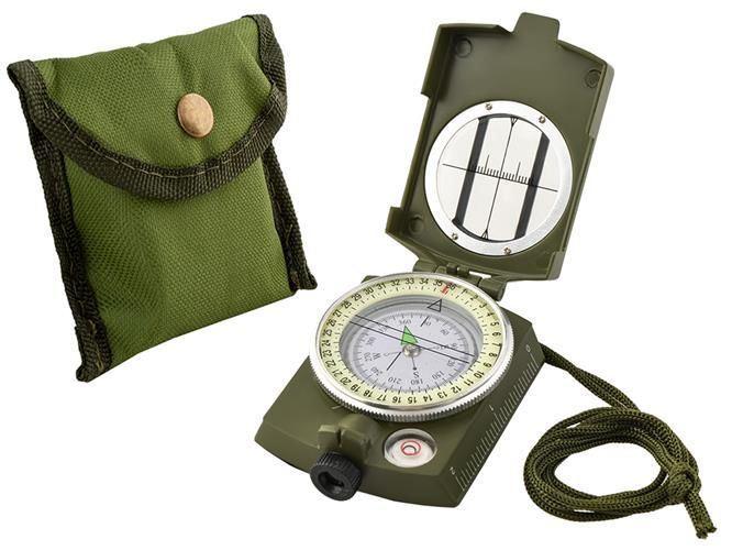 Vojenský kompas s buzolou KM
