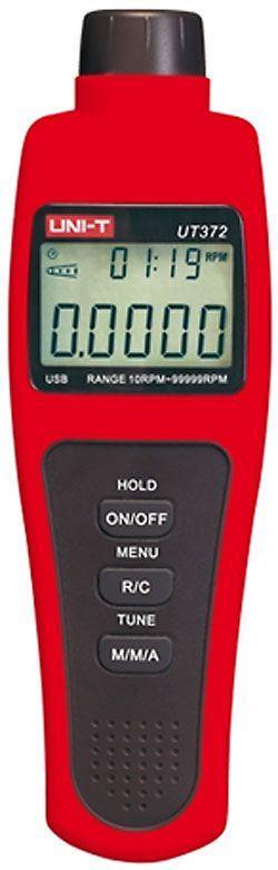 Otáčkoměr bezkontaktní UT372 USB UNI-T