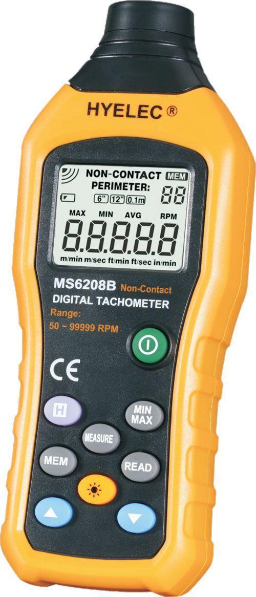 Otáčkoměr bezkontaktní Peakmeter MS6208B