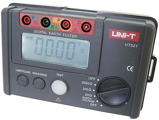 Tester zemního odporu UT521 UNI-T