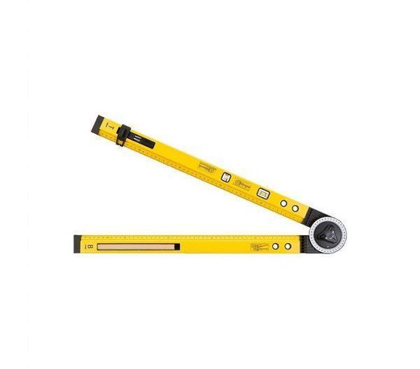 Uhloměr - 2 x libela, tužka, 500mm, TOPEX