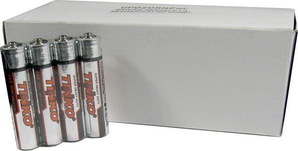 Baterie TINKO 1,5V AAA(R03), Zn-Cl, balení 60ks