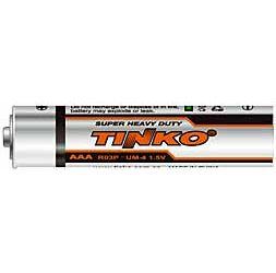 Baterie TINKO 1,5V AAA(R03), Zn-Cl