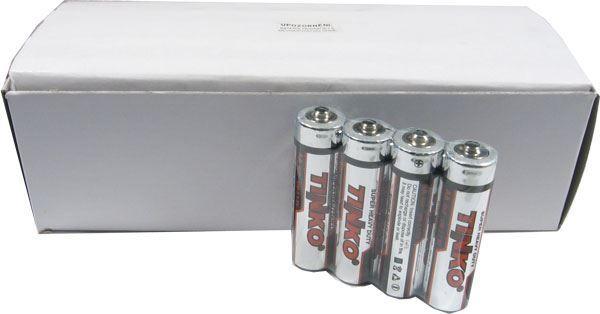 Baterie TINKO 1,5V AA(R6), Zn-Cl, balení 60ks