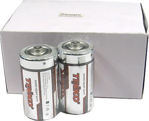 Baterie TINKO 1,5V C(R14), Zn-Cl, balení 24ks