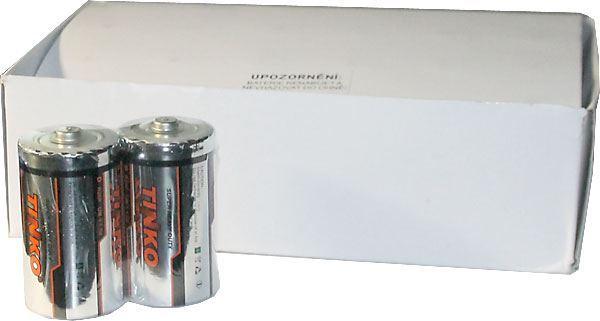 Baterie TINKO 1,5V D(R20) Zn-Cl, balení 24ks