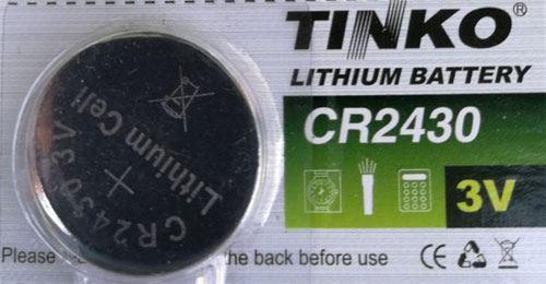 Baterie TINKO CR2430 3V lithiová