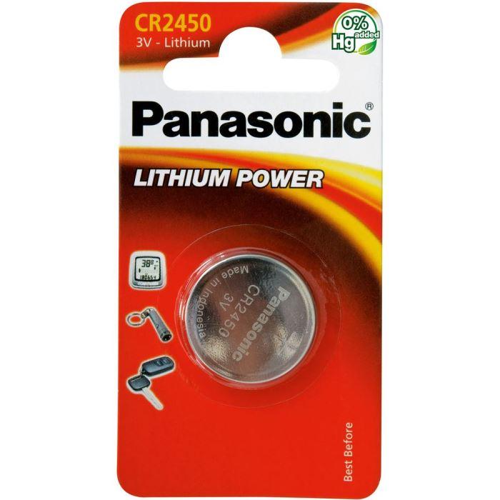 Baterie PANASONIC CR2450 3V lithiová