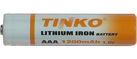 Baterie TINKO AAA(R03) 1,5V lithiová