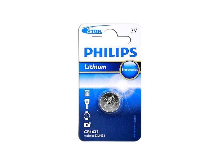 Baterie PHILIPS CR1632 3V lithiová