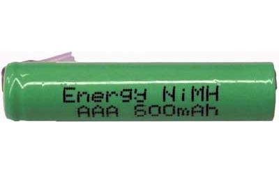 Nabíjecí článek NiMH AAA 1,2V/700mAh TINKO,páskové vývody