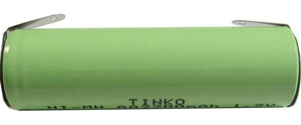 Nabíjecí článek NiMH AA 1,2V/2200mAh TINKO páskové vývody