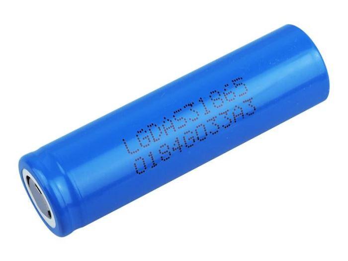 Nabíjecí článek Li-Ion ICR18650 3,7V/2200mAh LG