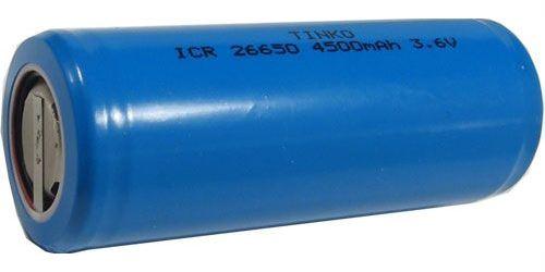Nabíjecí článek Li-Ion ICR26650 3,6V/3300mAh TINKO