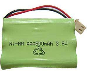 Akupack NiMH AAA 3,6V/600mAh TINKO