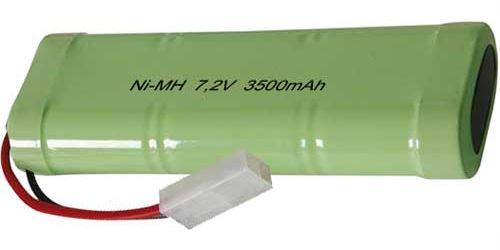 Akupack NiMH SC 7,2V/3500mAh TINKO, 128x46x24mm