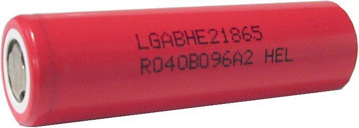Nabíjecí článek Li-Ion ICR18650 3,7V/2600mAh LGABHE21865