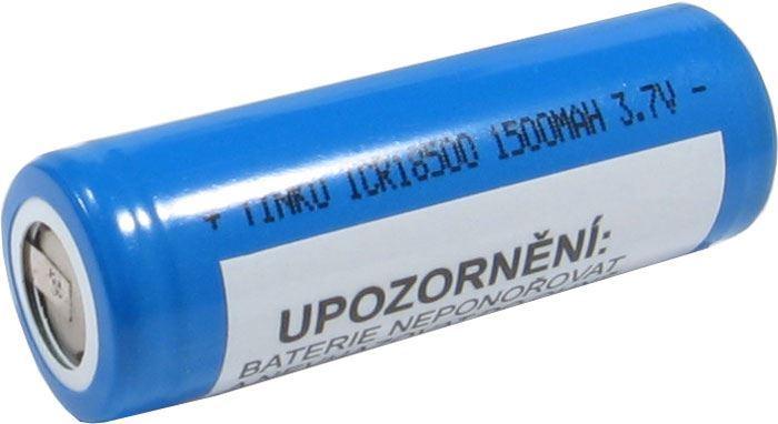 Nabíjecí článek Li-Ion ICR18500 3,7V/1500mAh TINKO