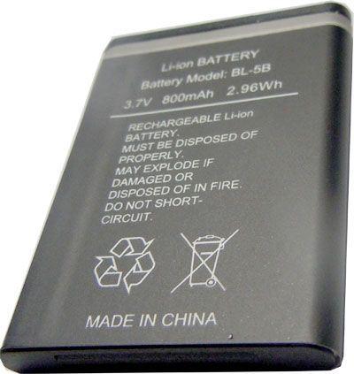 Baterie TINKO BL-5B 3,7V/800mAh do telefonů Nokia