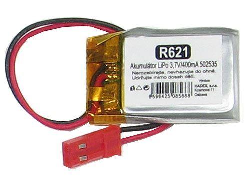 Akumulátor LiPo 3,7V/400mA 502535 /Nabíjecí baterie Li-Pol/