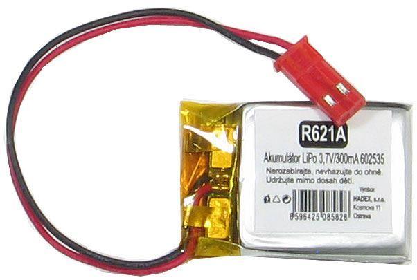 Akumulátor LiPo 3,7V/500mA 602535 /Nabíjecí baterie Li-Pol/