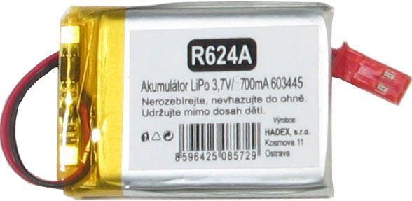 Akumulátor LiPo 3,7V/1000mAh 603450 /Nabíjecí baterie Li-Pol/