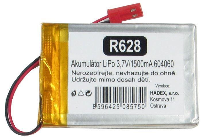 Akumulátor LiPo 3,7V/1700mAh 604060 /Nabíjecí baterie Li-Pol/