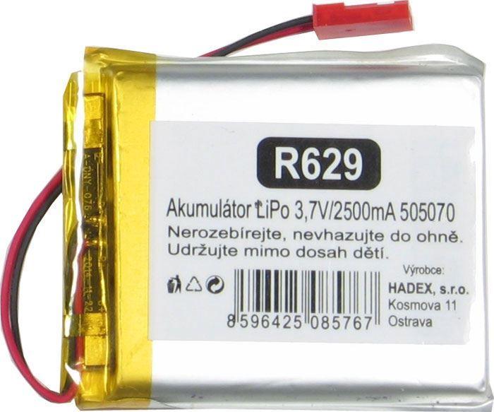 Akumulátor LiPo 3,7V/2000mAh 585460 /Nabíjecí baterie Li-Pol/