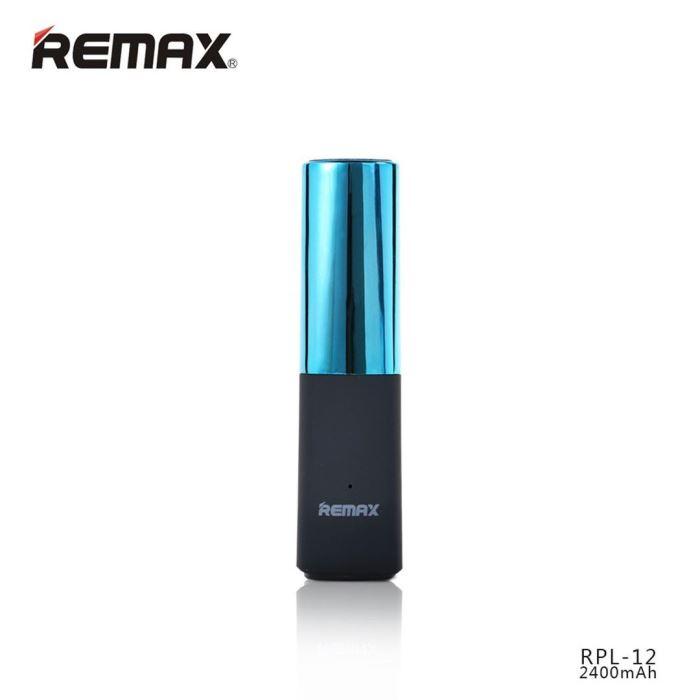 Externí baterie - powerbank 2400mAh modrá